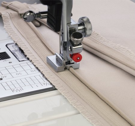 Janome Concealed Zipper Foot for Horizontal Hook Models