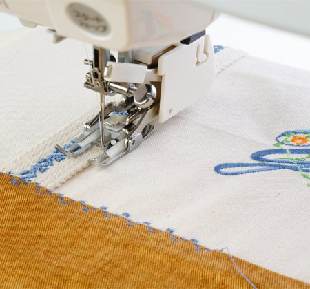 Janome Even Feed Foot w/ quilt guide for High Shank