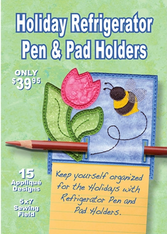 Holiday Refrigerator Pen & Pen Holders