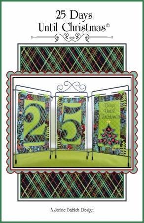 25 Days Until Christmas Table Top Display