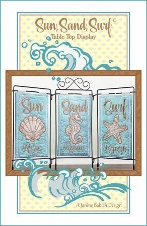 Sun, Sand, Surf Table Top Display