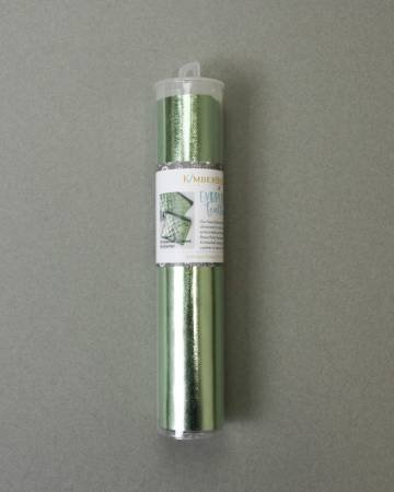Embroidery Leather Seafoam Green 8 x 24