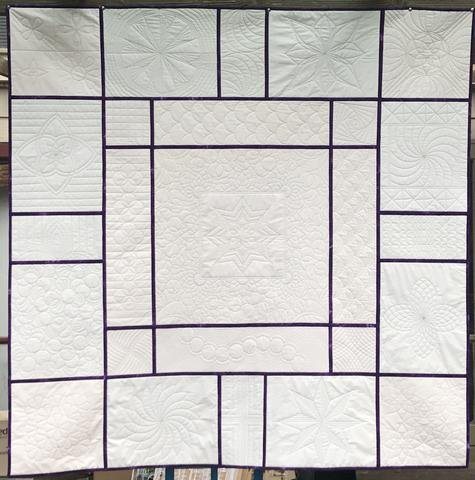 Ruler Work Quilt Carpentersville