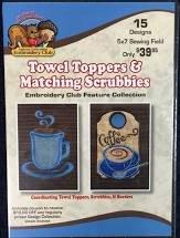 Dakota Towel Toppers & Matching Scrubbies