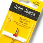 Twin Machine Needle 14/90 John James