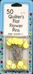 Flower Head Fine Sharps Pin Size 32 - 2in 50ct