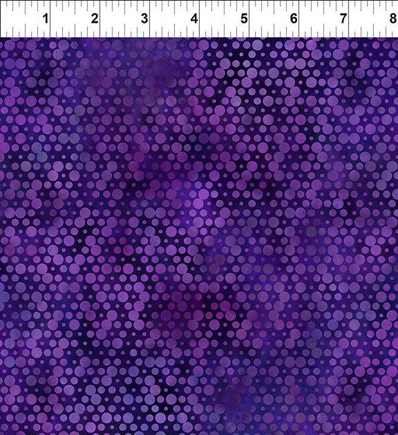 Urban Jungle Circles Purple