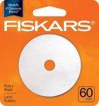 Fiskars Rotary Straight Blade 60mm Single