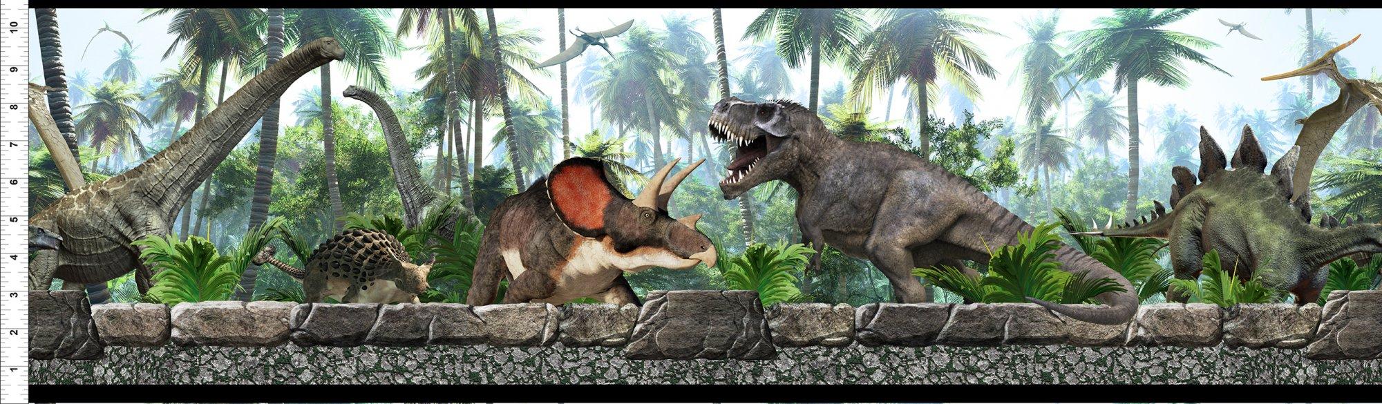 Jurassic Dinosaur Border Multi reordered 2/6/21