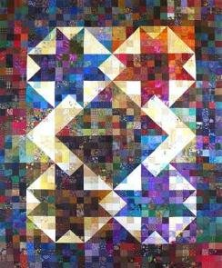Aries Star Quilt Thangles