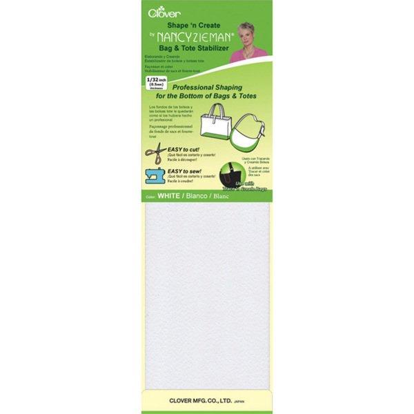 Clover Bag Stabilizer Shape White
