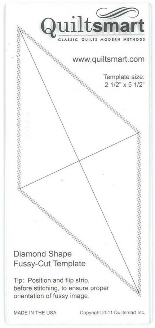 quilt smart diamond shape fussy cut template 1477511736