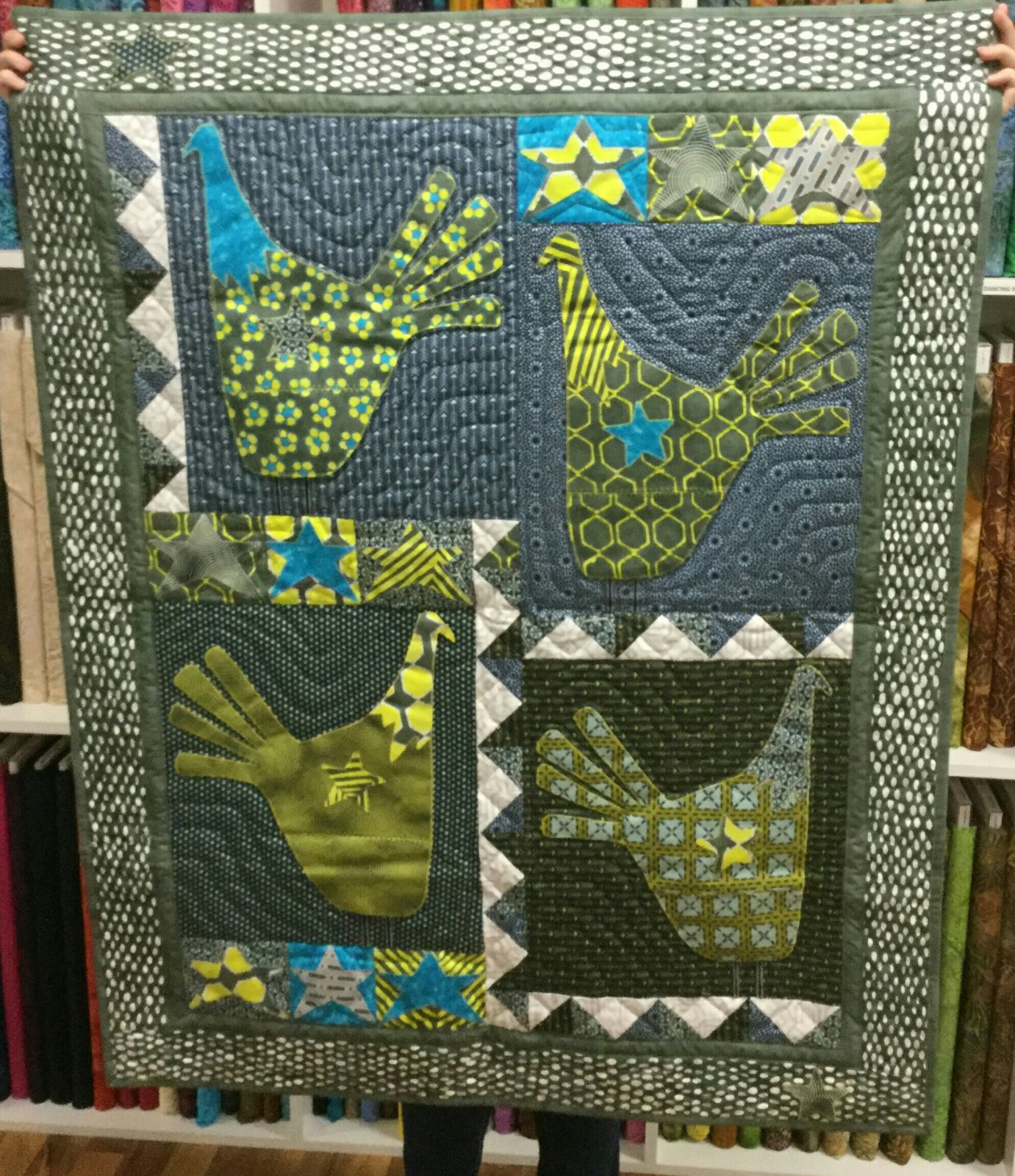 Turkey Squared Wall hanging