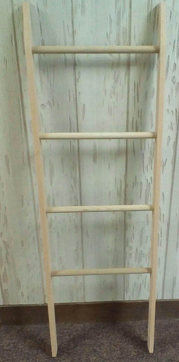 Oak Quilt Display Rack
