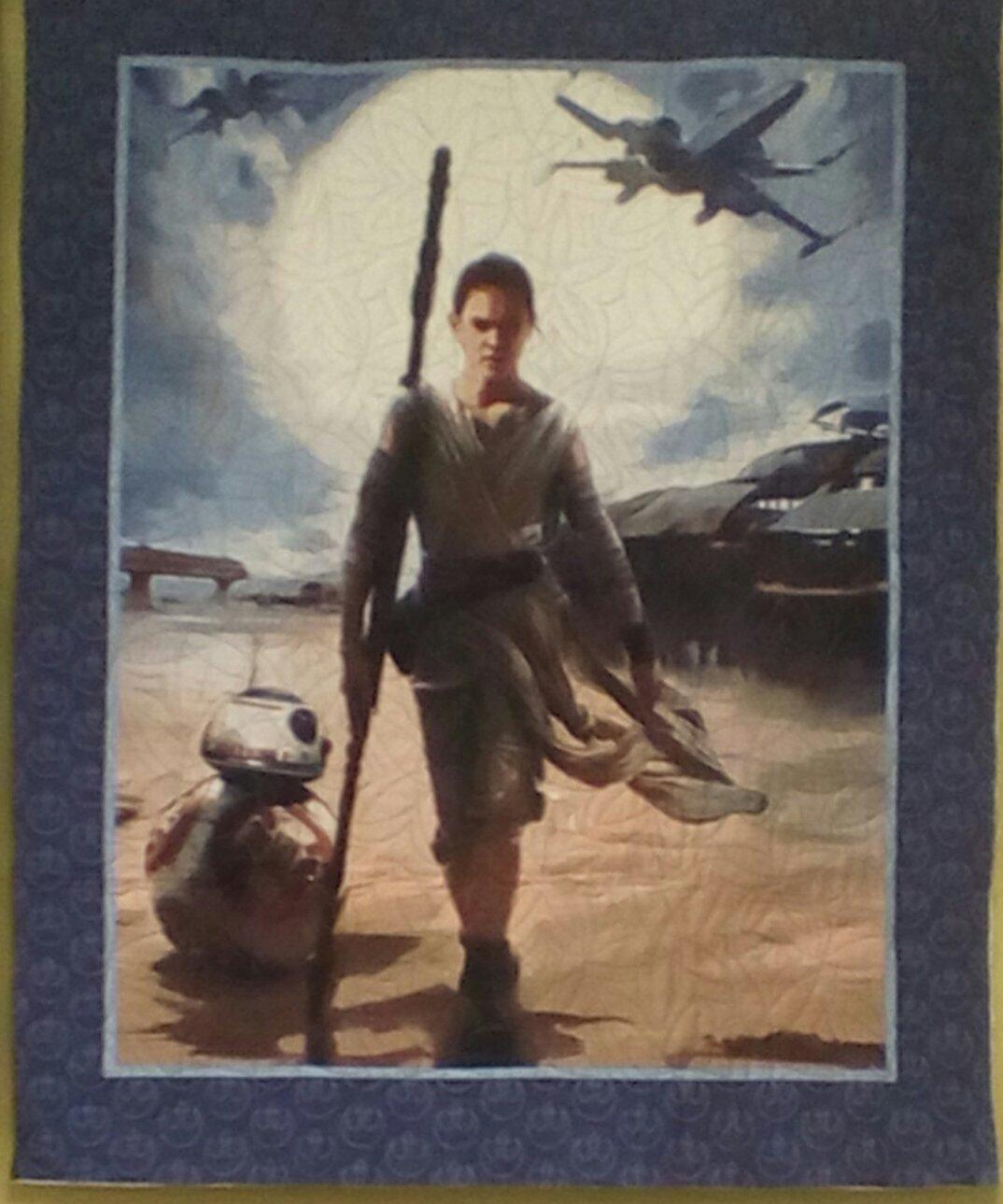 Star Wars Rey Quilt