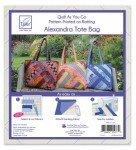 Quilt As You Go Tote Bag Alexandra Design