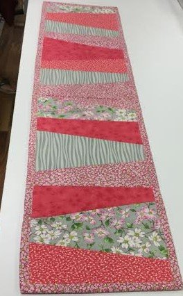Spring Orphan Cake Table Runner