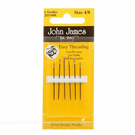 John James easy threading assortment 4/8
