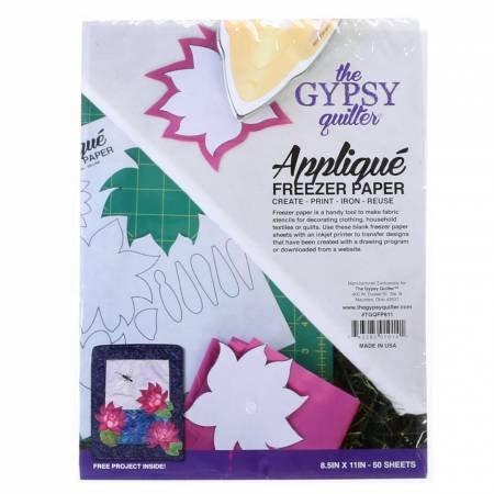 Gpysy Quilter Applique Freezer Paper