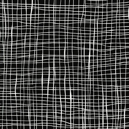Pen and Ink 2 - White Lines on Black