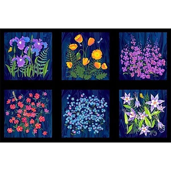 Wildflowers by Teresa Ascone Y1891-93 Panel