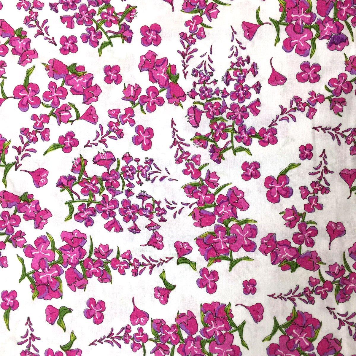 Wildflowers by Teresa Ascone Fireweed White