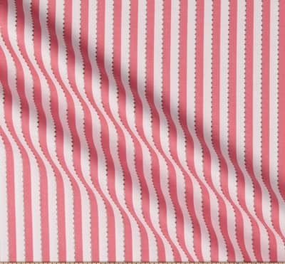 Anthology Batiks Becolourful Pink White Beaded Stripe