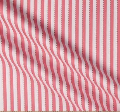 Anthology Batiks Becolourful Pink White Beaded Stripe