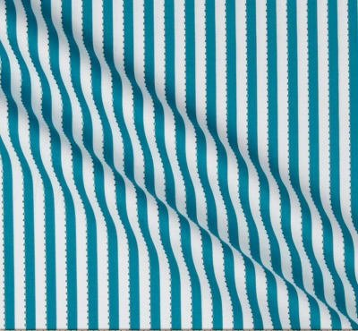 Anthology Batiks Becolourful Teal White Beaded Stripe