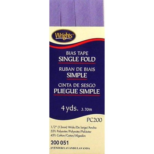 Bias Tape Single Fold 051 Lavender