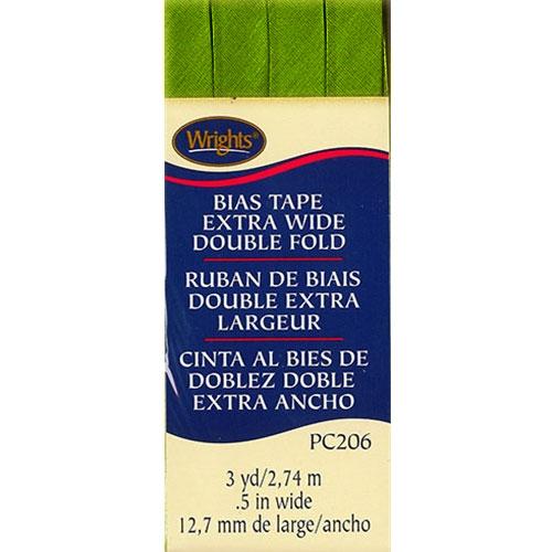 Bias Tape Extra Wide Double Fold 1136 Kiwi