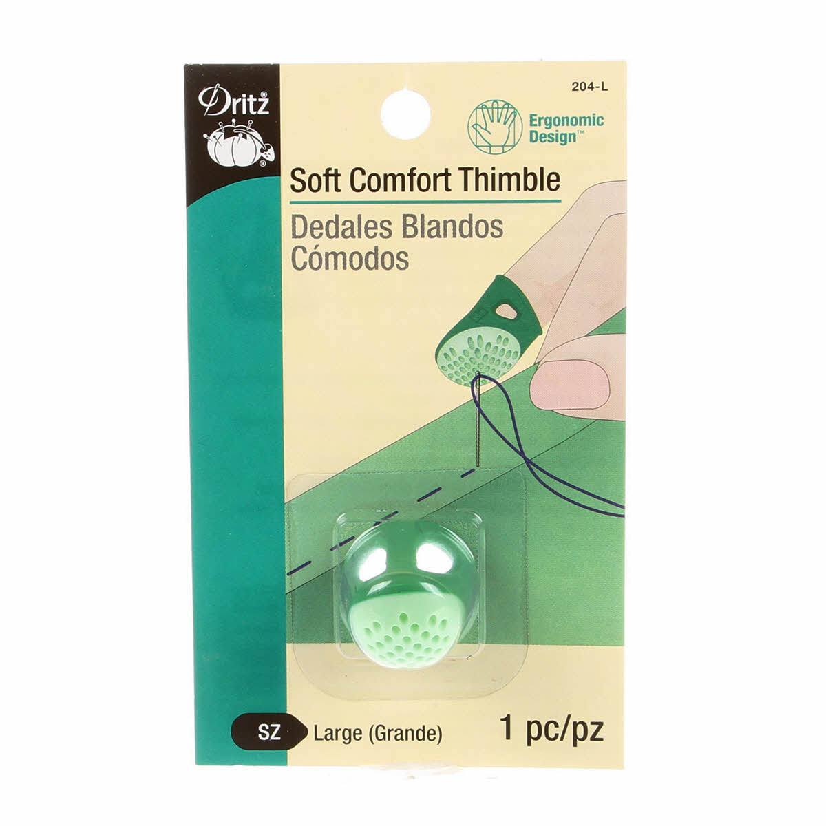 Soft Comfort Thimble Large