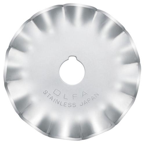 Olfa 45mm Scallop Rotary Blade
