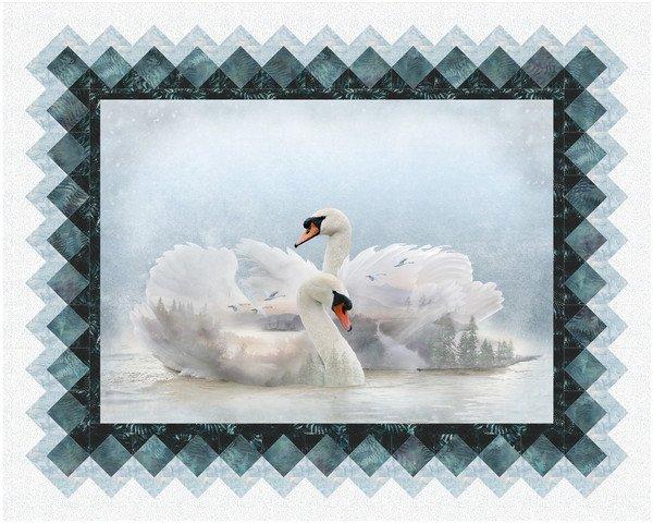 Solstice Quilt Pattern - Swan