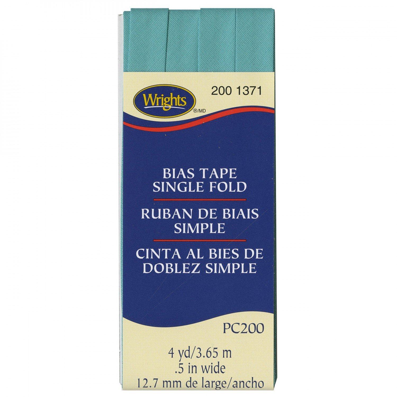 Bias Tape Single Fold 1371 Aquamarine