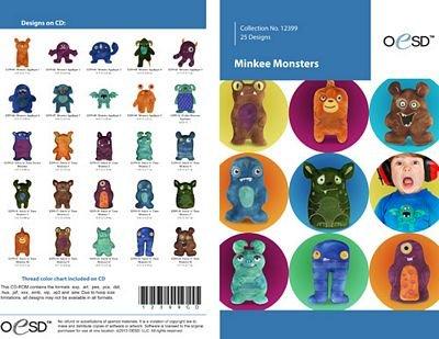 Minkee Monsters CD