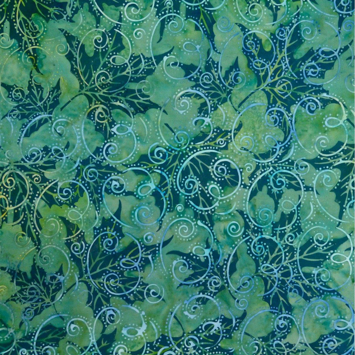 Batik by Mirah Silver Sage SS-5-1536 Lemon Basil