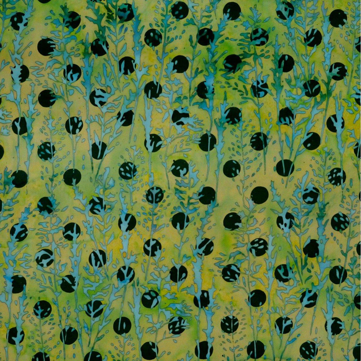Batik by Mirah Herbiage HB-4-9556 Meadow Creek
