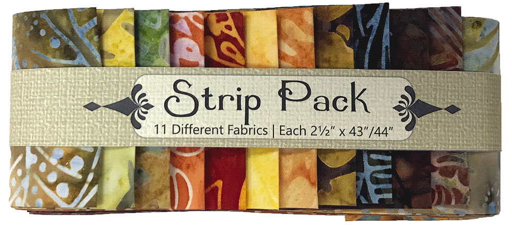 Strip Pack Pre Cut 2.5 Inch Fall