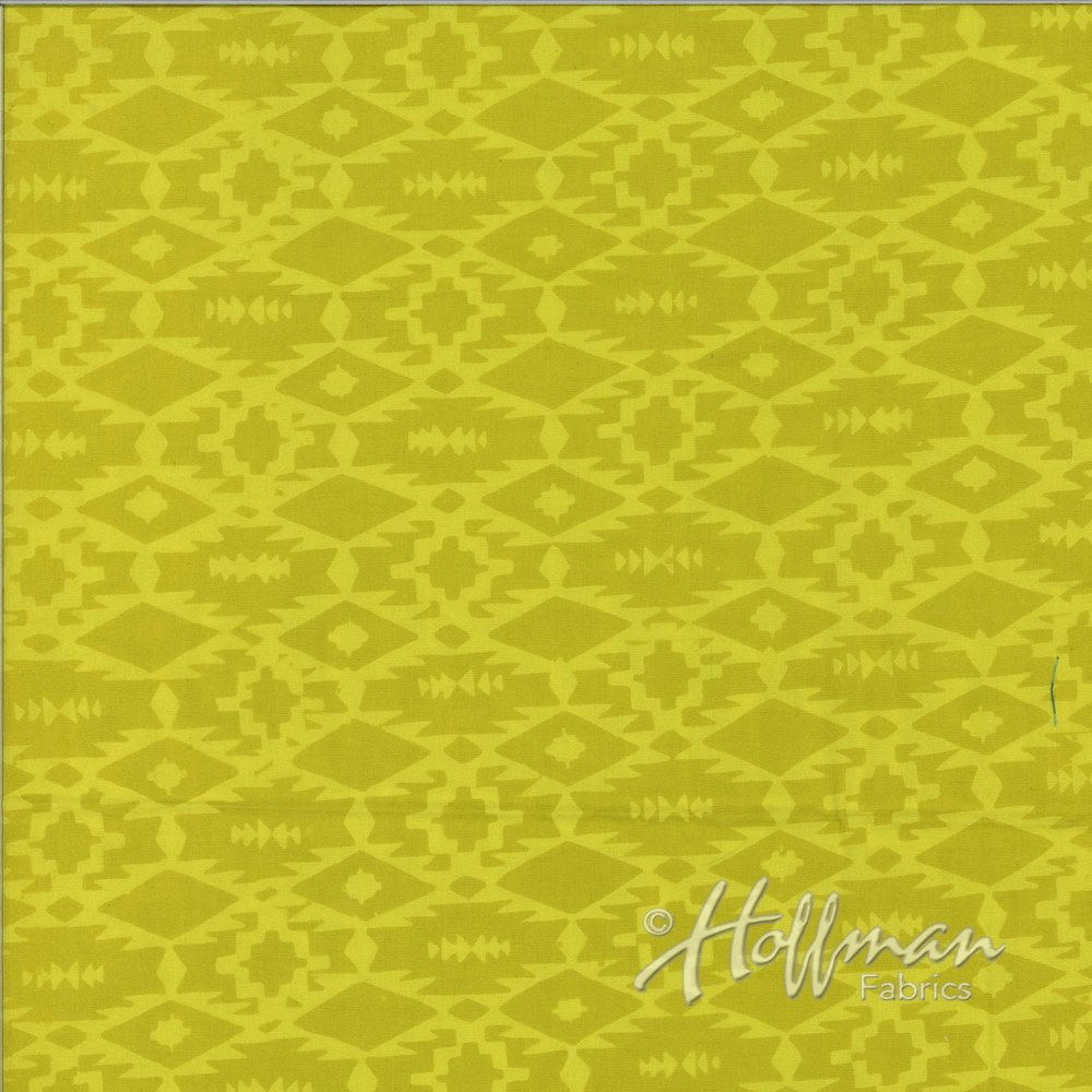 Batiks ME+YOU 121-496 Southwestern Weave Pineapple