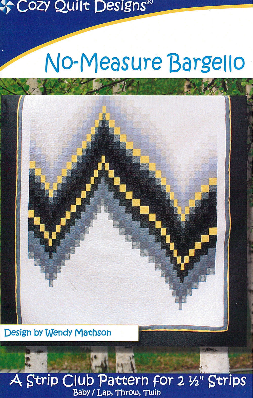 No-Measure Bargello by Cozy Quilt Designs