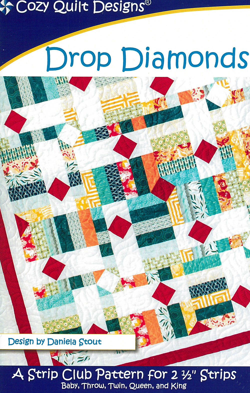 Drop Diamonds by Cozy Quilt Designs