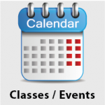 Classes and Events Calendar