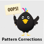 Pattern Corrections