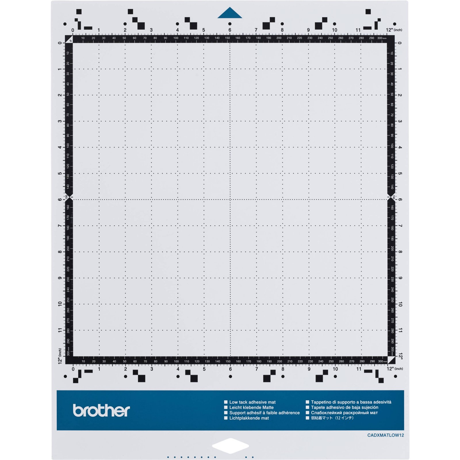 Brother ScanNcut CADXMATLOW12 Low Tack 12 Mat