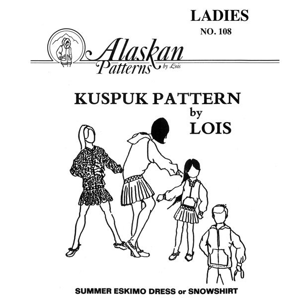 108 Ladies Kuspuk Pattern