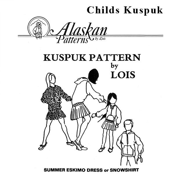109 Childrens Kuspuk Pattern