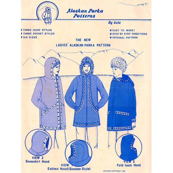 101 Ladies Alaskan Parka Pattern