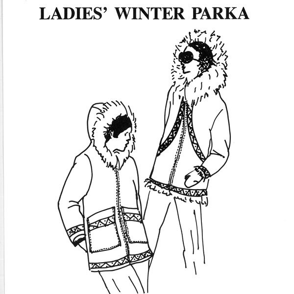 105 Ladies Winter Parka Pattern