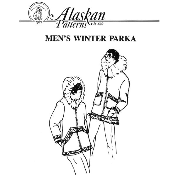 106 Mens Winter Parka Pattern